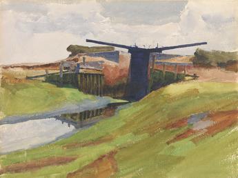 The Lock Gates, Birdham, Sussex