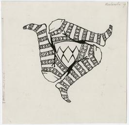 Three Legs design by Archibald Knox