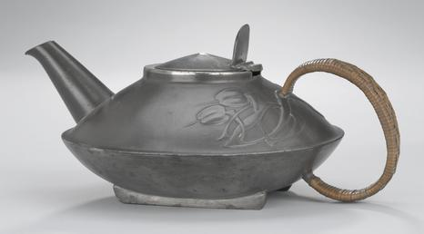 Liberty Tudric teapot designed by Archibald Knox