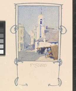 Illuminated address by Archibald Knox