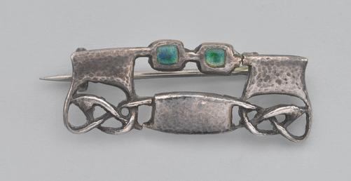 Liberty Cymric brooch designed by Archibald Knox