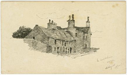 Building near Castletown by Archibald Knox