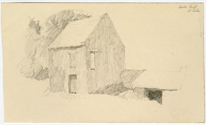 Timber Mill in Ballasalla by Archibald Knox