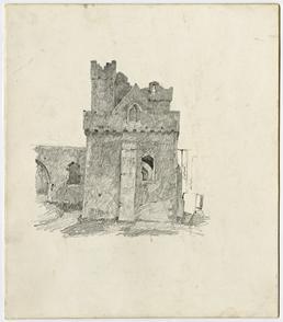 Peel Castle by Archibald Knox