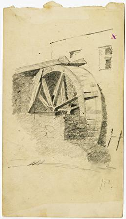 Mill wheel by Archibald Knox