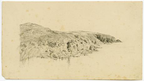 Coastal scenery by Archibald Knox
