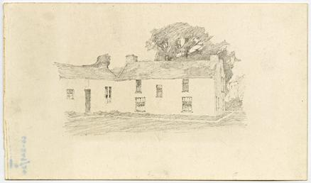 Group of cottages by Archibald Knox