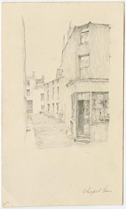 Chapel Lane by Archibald Knox