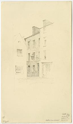 Saddle Inn on North Quay by Archibald Knox