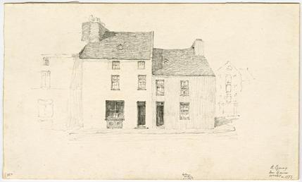 Saddle Inn on North Quay by Archibald Knox