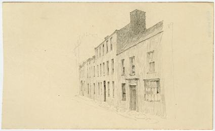 Town buildings by Archibald Knox