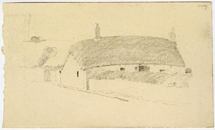 Cottage at Crosby by Archibald Knox