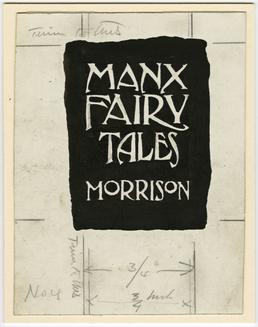 Illustration by Archibald Knox for Sophia Morrison's 'Manx…