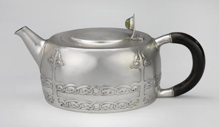 Liberty Cymric teapot designed by Archibald Knox