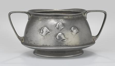 Liberty Tudric sugar bowl designed by Archibald Knox