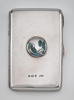 Liberty Cymric card case designed by Archibald Knox