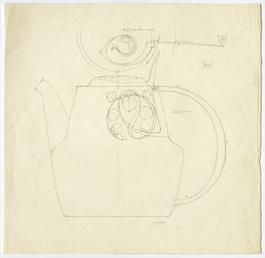 Liberty design for a tea pot by Archibald…