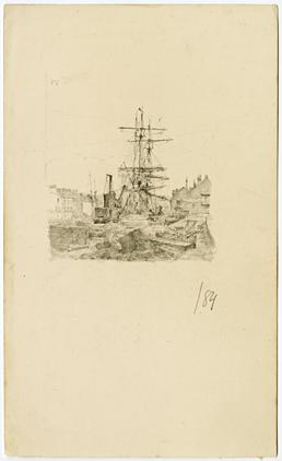 Ship in harbour