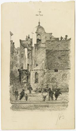 Old St Matthews, 1889