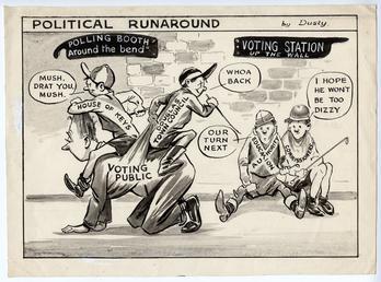 Political Runaround