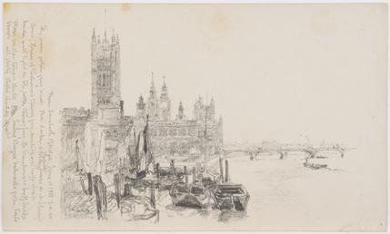 The Houses of Parliament from Lambeth Bridge