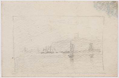 Douglas outer harbour, Douglas headland and Red Pier