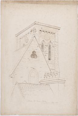 Steeple, St Thomas' Church