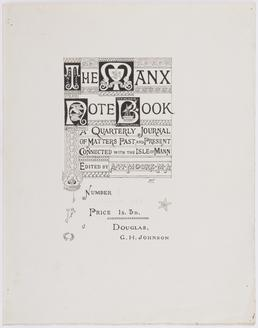Designs for the Manx Note Book