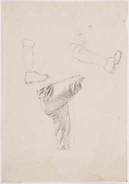 Study of legs, feet and boots