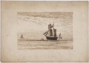 Vessels at sea