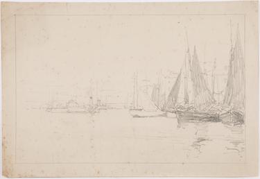 Boats at Douglas Quay