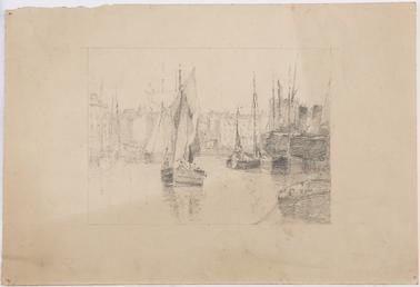 Boats in Douglas Harbour