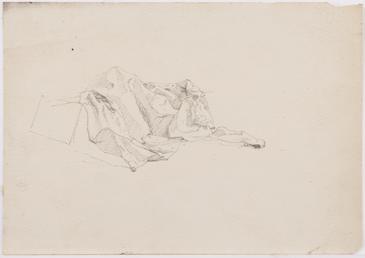 Crumpled sailcloth