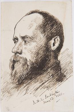 Portrait of J. H. E. Partington