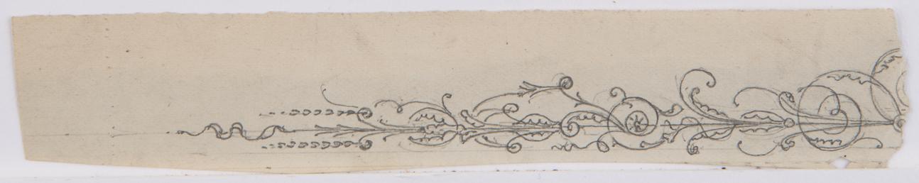 Fragment of foilage border