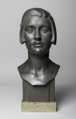 Bronze head 'Phoebe'