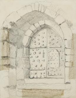 Entrance to Peel Castle