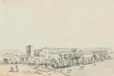 Remains of Balasalla Abbey