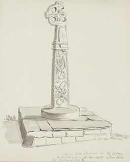 Cross in Kirk Braddan, Isle of Man