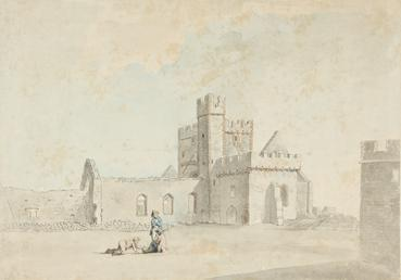 St Germain's Church, Peel Castle in the Isle…