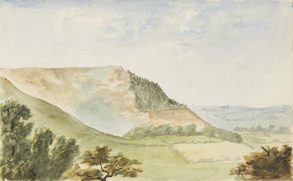 Sky Hill near Ramsey, Isle of Man
