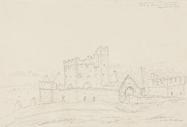 Cathedral, Peel Castle, Isle of Man
