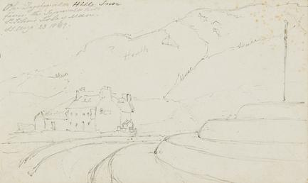 Old Tynwald Hill Inn from the Tynwald Hill,…