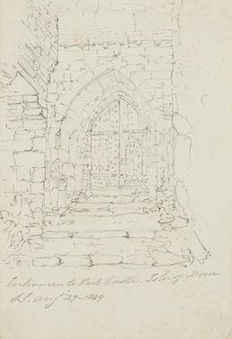 Entrance to Peel Castle, Isle of Man