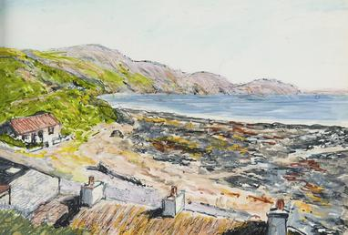 Niarbyl Bay, looking south