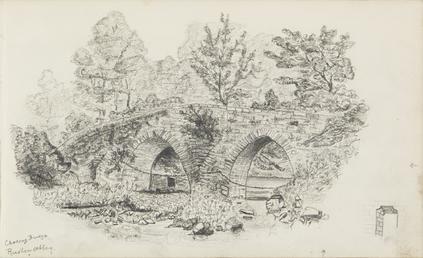 Crossag Bridge, Rushen Abbey
