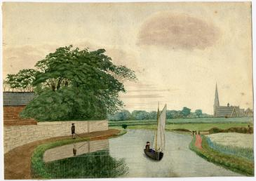 Canal at Linacre, Bootle
