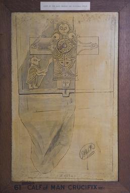 Calf of Man Crucifixion Altar Slab
