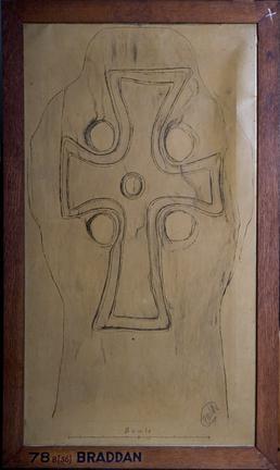 Braddan Cross Slab