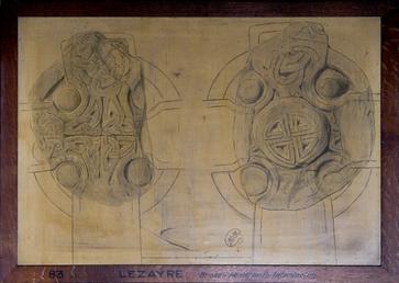 Lezayre Vicarage Cross Slab